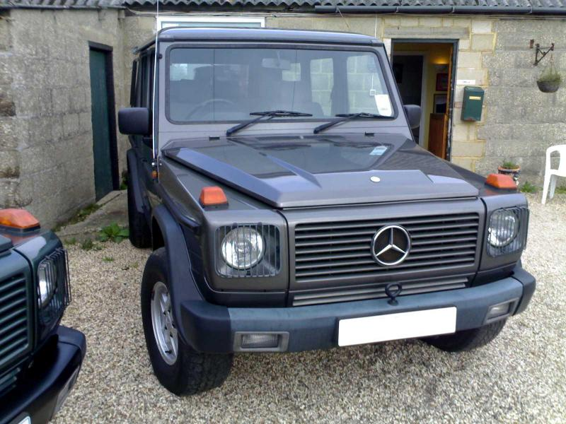 Mercedes Benz G Class W463-W461 head light guards,