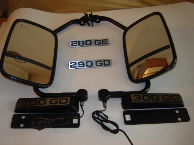 W460-W461 duble view  mirrors