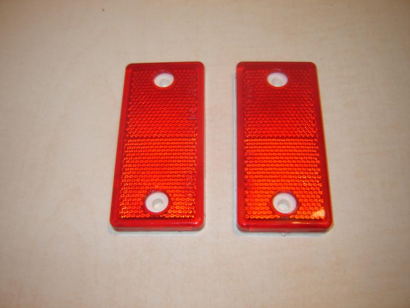 Mercedes Benz G Class rear reflectors