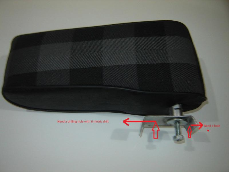 Mercedes Benz G Class arm rest
